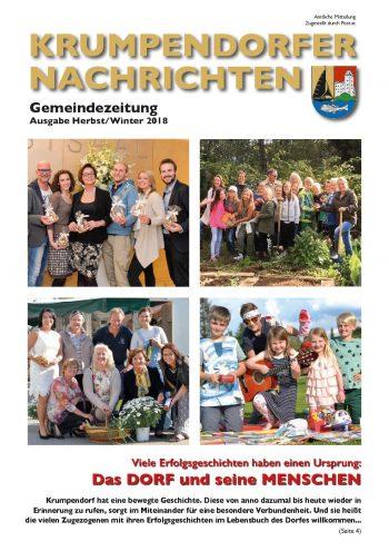 Krumpendorfer Nachrichten Herbst / Winter 2018