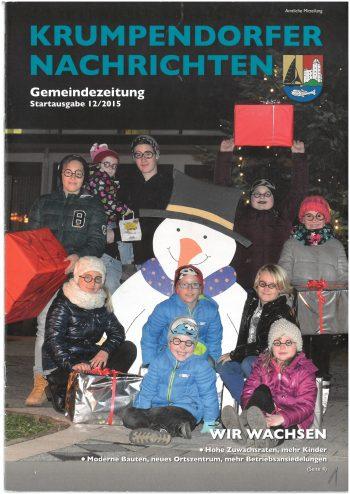 Krumpendorfer Nachrichten Startausgabe 2015