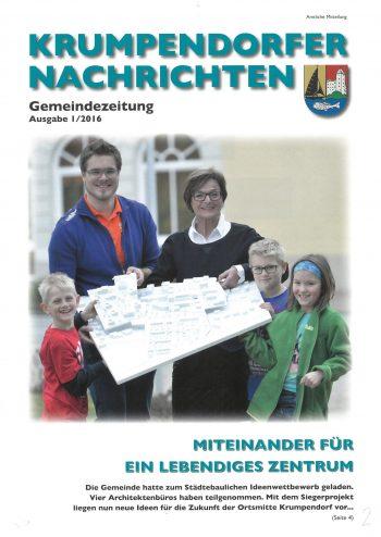 Krumpendorfer Nachrichten Frühjahr 2016