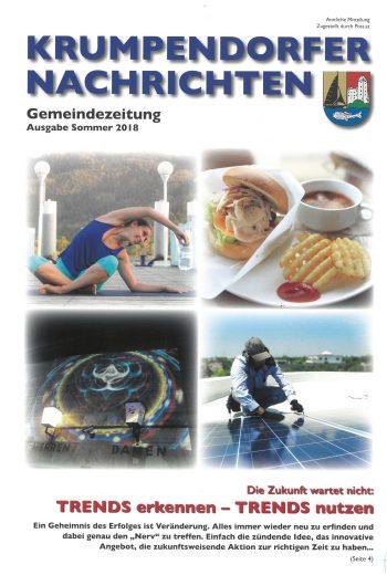 Krumpendorfer Nachrichten Sommer 2018
