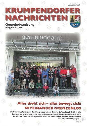 Krumpendorfer Nachrichten Herbst/Winter 2016