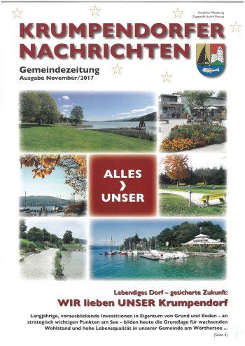 Krumpendorfer Nachrichten Herbst/Winter 2017