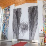 """Kunstinstallation """"In der Krise getragen"""""""