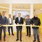 Eröffnung der neu renovierten Raiffeisen-Bankstelle