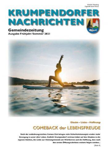 Krumpendorfer Nachrichten Sommer 2021